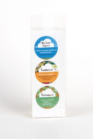 Private label chocolade voor bedrijf Halfvolle Melk achterkant