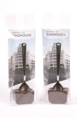 hot chocolate lepel voor VVV Eindhoven