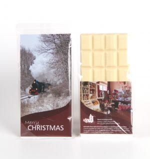 Voorbeeld Chocoladereep op maat gemaakt